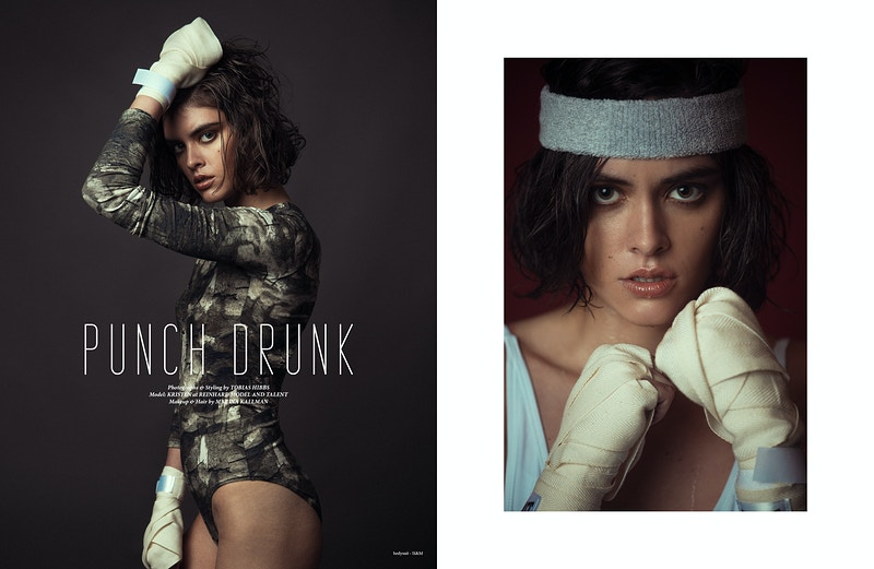 Editorial - Marina Christine Makeup & Hair