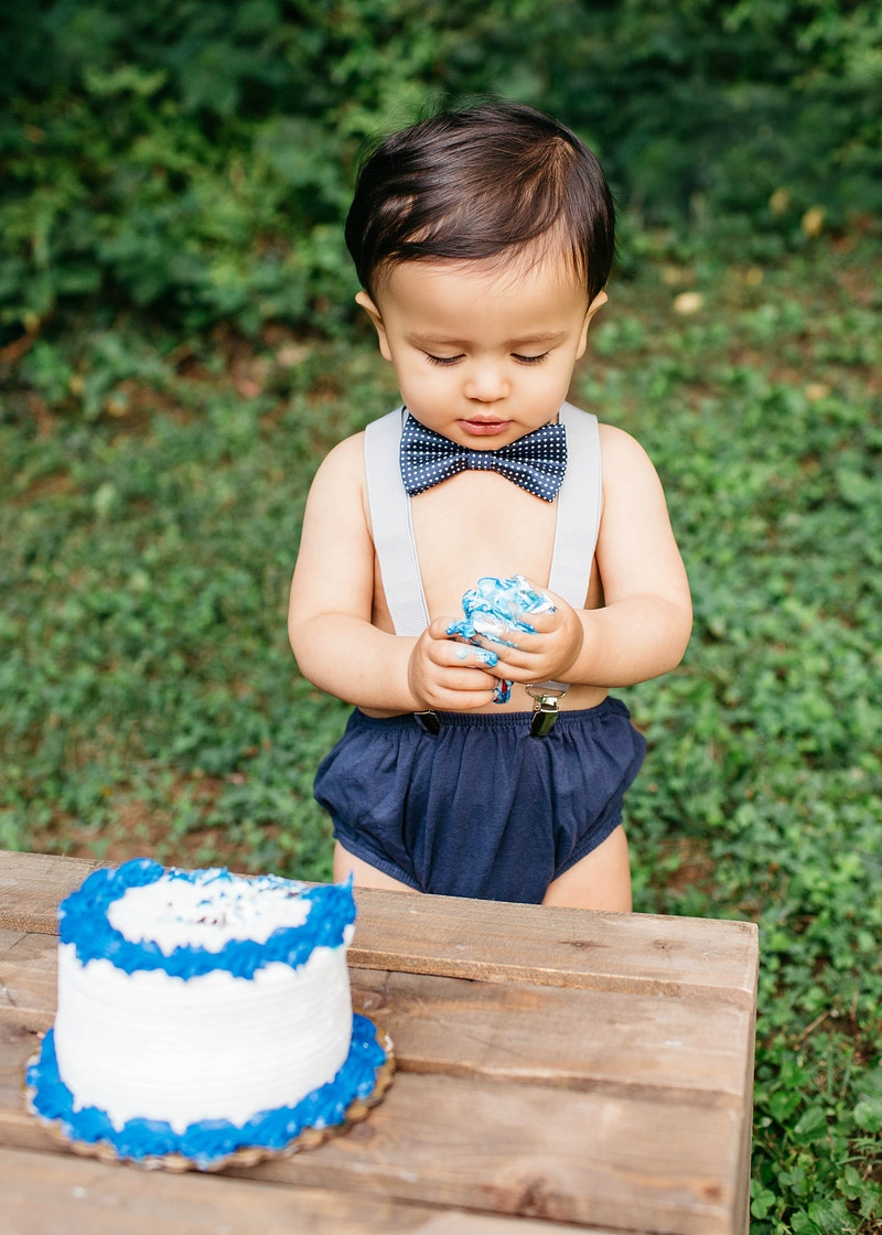 Cake Smash - Marina Mauletkali - Maryland Photographer