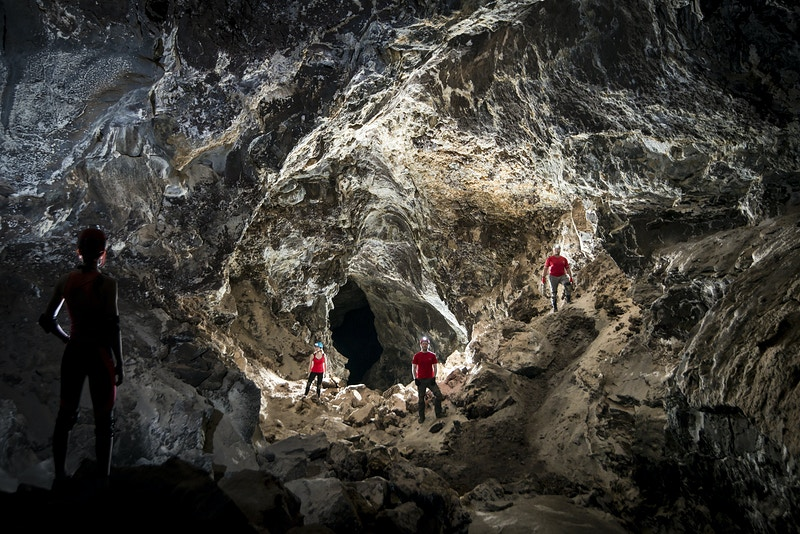 Lava Tubes Of The Canary Islands - Mark Burkey Photography