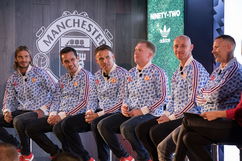 Class Of 92 For Adidas X Manchester United - Mark Surridge