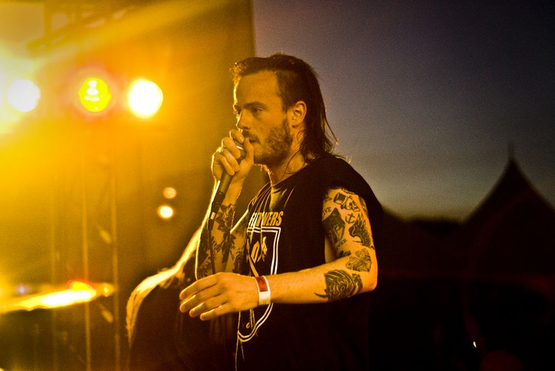 Liam Cormier of Cancer Bats - Mark Tym
