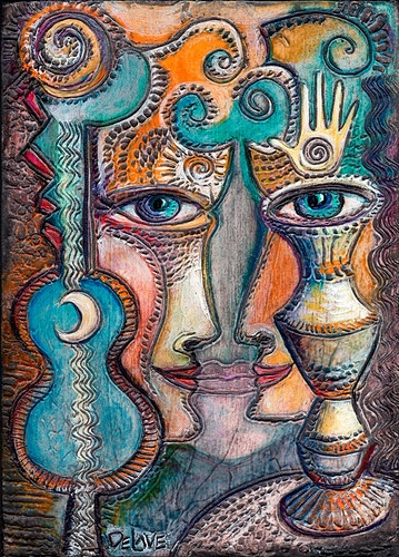 Eye of the Drum - Mary DeLave Art