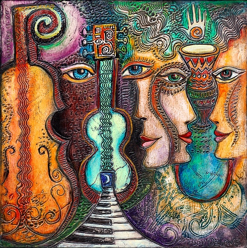 A Musical Path - Mary DeLave Art