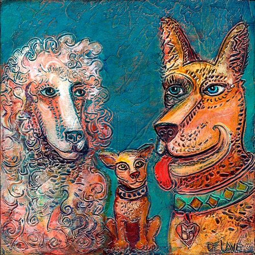 Chaperoned - Mary DeLave Art