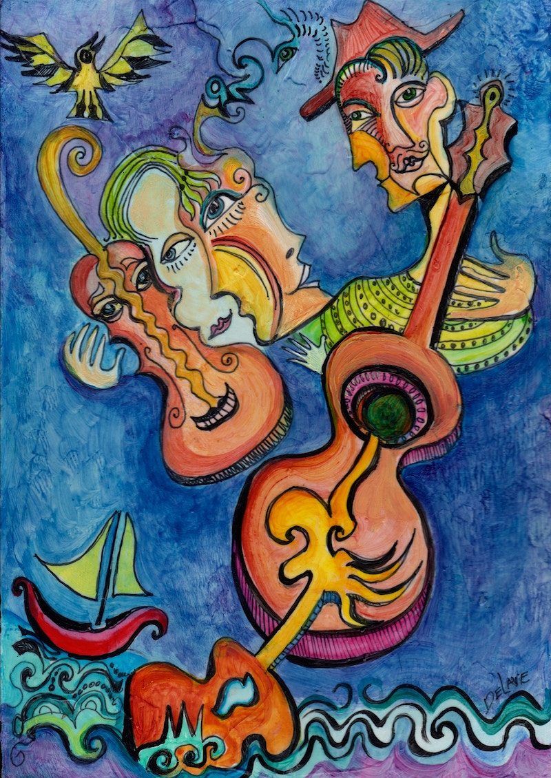 Serenading the Sea - Mary DeLave Art