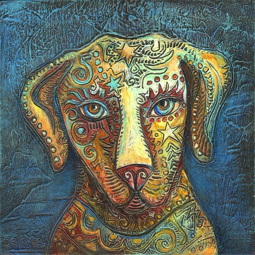 Watchfully Waiting - Mary DeLave Art