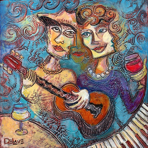 Toast to Music - Mary DeLave Art