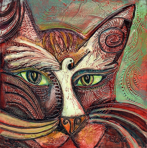 Watching - Mary DeLave Art