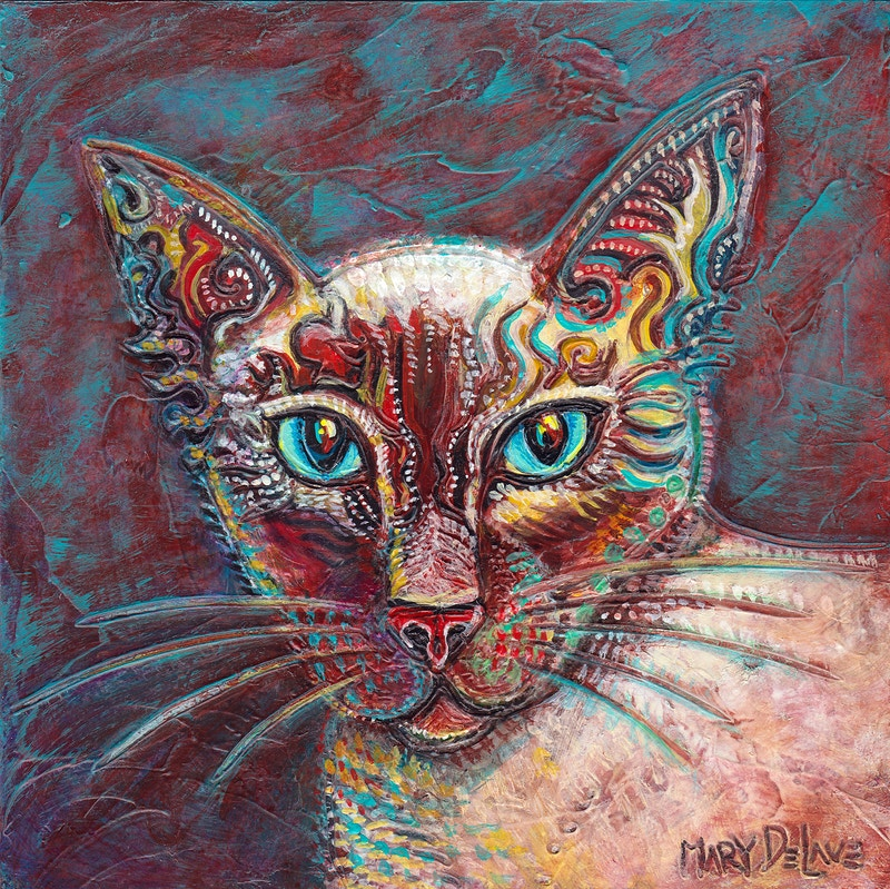 Siamese - Mary DeLave Art