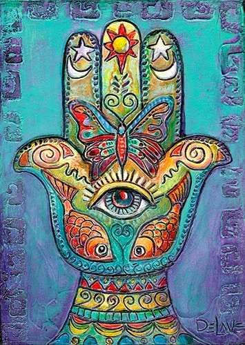 Transformational Hand - Mary DeLave Art