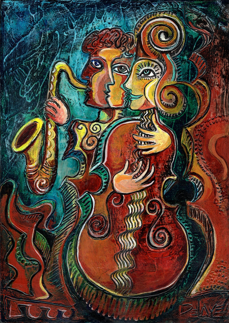 Musical Dream - Mary DeLave Art