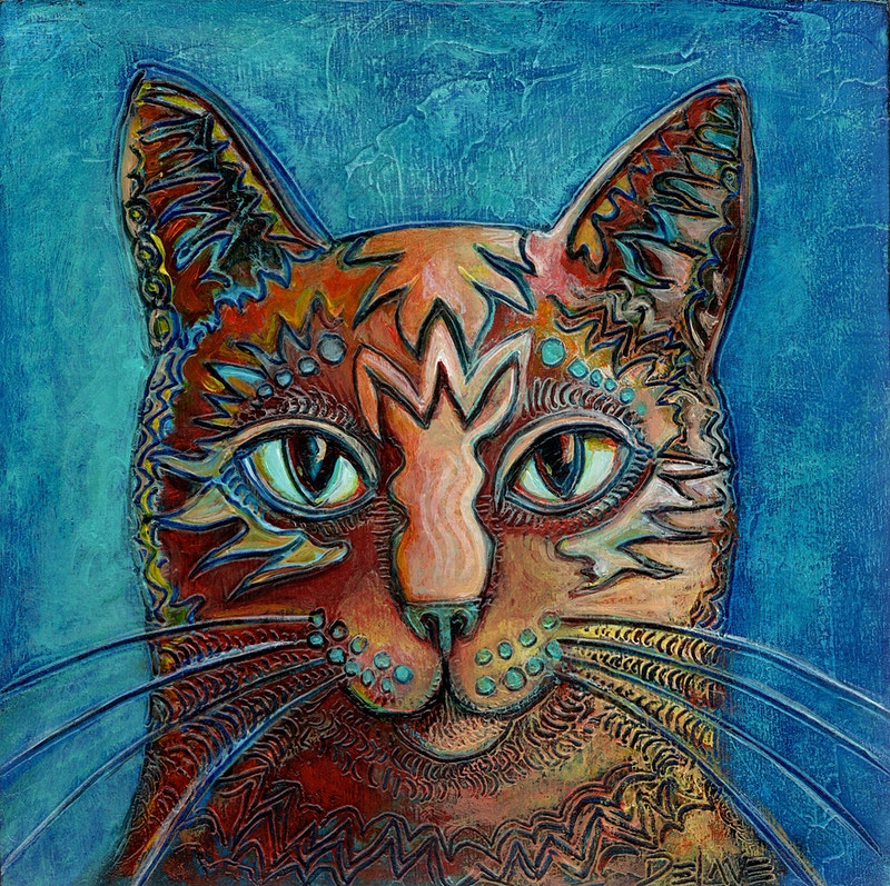 Just Smug - Mary DeLave Art