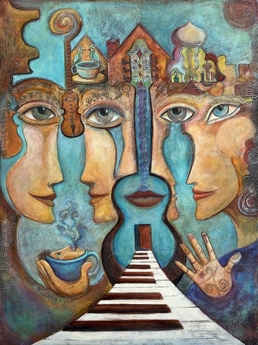 Chronicale's in Harmony - Mary DeLave Art
