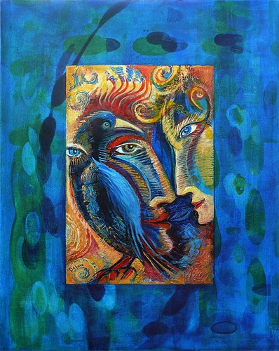 Crow Magic - Mary DeLave Art