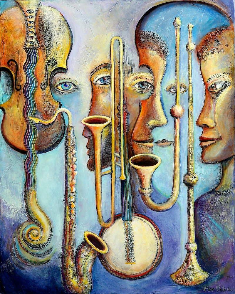 Harmonic Resonance - Mary DeLave Art