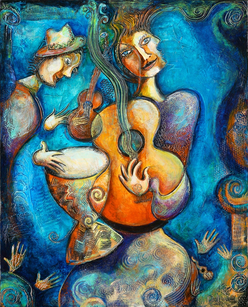 Music Magic - Mary DeLave Art