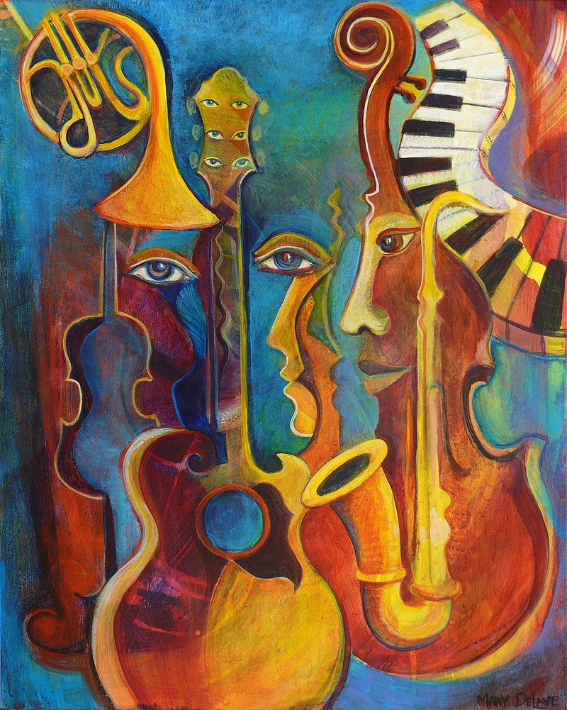 Musical Prelude - Mary DeLave Art