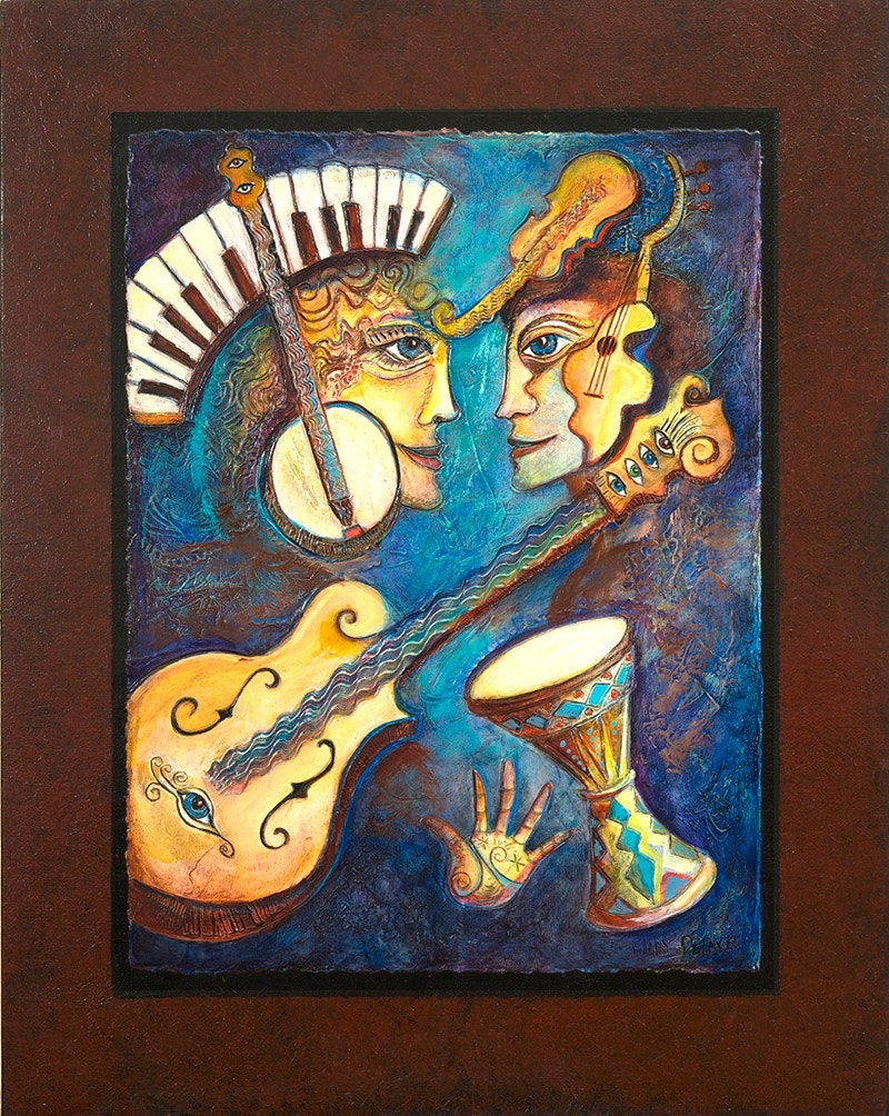 Musical Feast - Mary DeLave Art