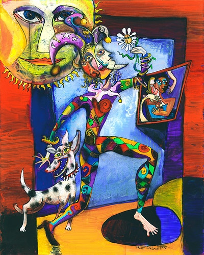 The Fool Card - Mary DeLave Art