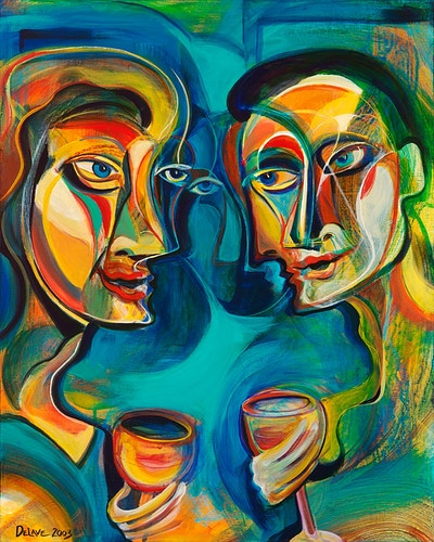 Toast to Spirit - Mary DeLave Art