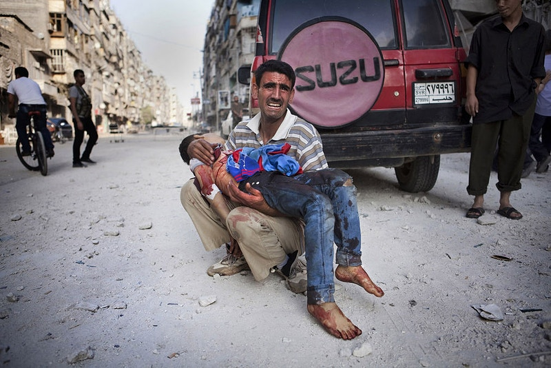 2012 13 Syria Hell On Earth - Maysun Visual Journalist