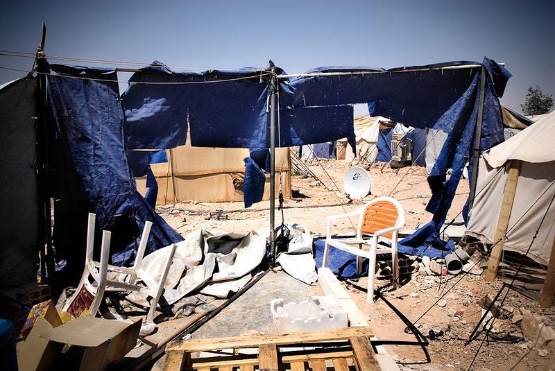 2005 To Exist Is To Resist Iv In No Mans Land Al Tanf Refugee Camp - Maysun Photographer