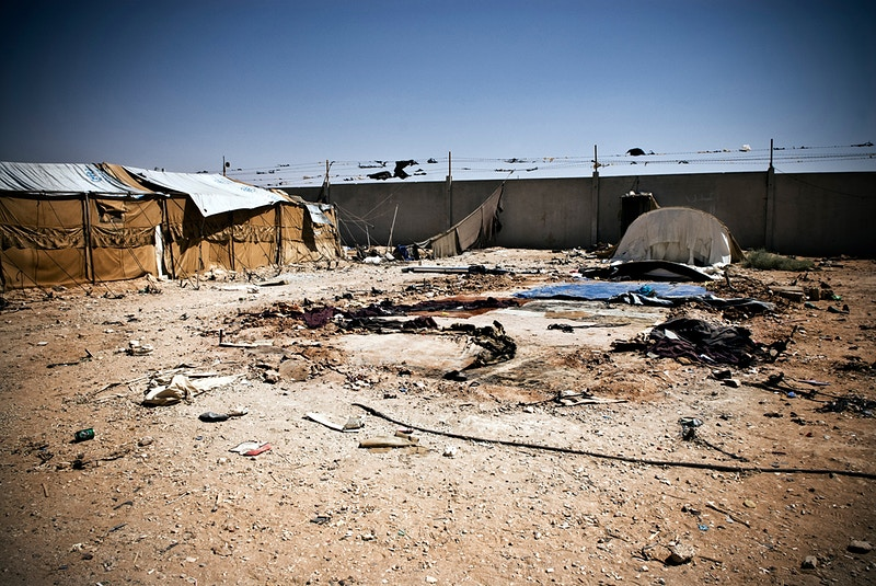 2009 To Exist Is To Resist Iv In No Mans Land Al Tanf Refugee Camp - Maysun Visual Journalist