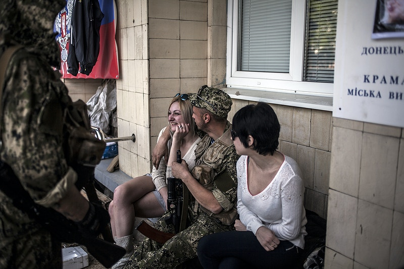 2014 Eastern Ukraine Crisis - Maysun Visual Journalist