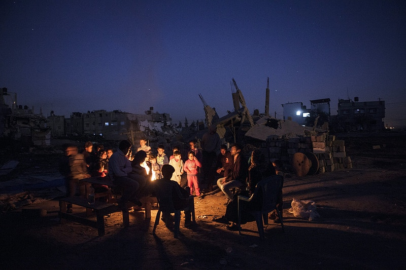 2015 The Mousetrap Gaza Aftermath - Maysun Photographer