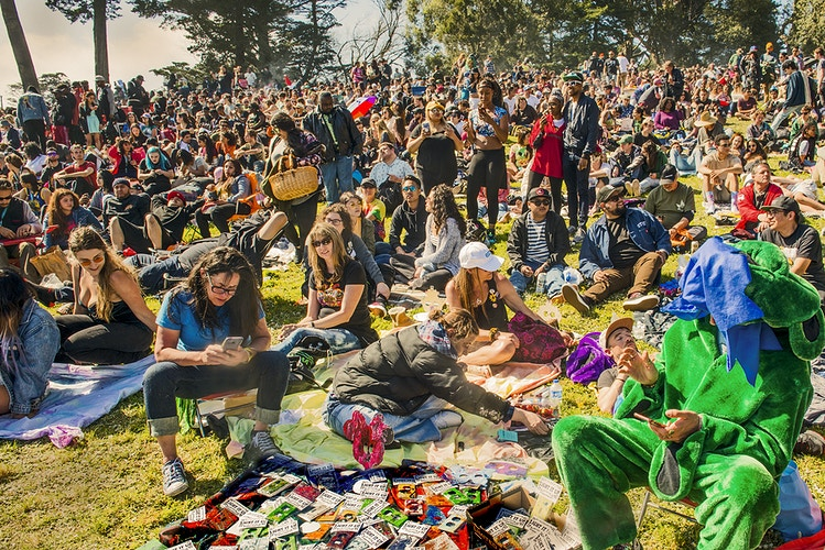 4/20 Day celebration at Golden Gate Park - mazzera.com