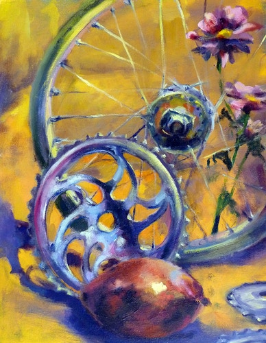 Bicycle Mango - Meghan Taylor Art