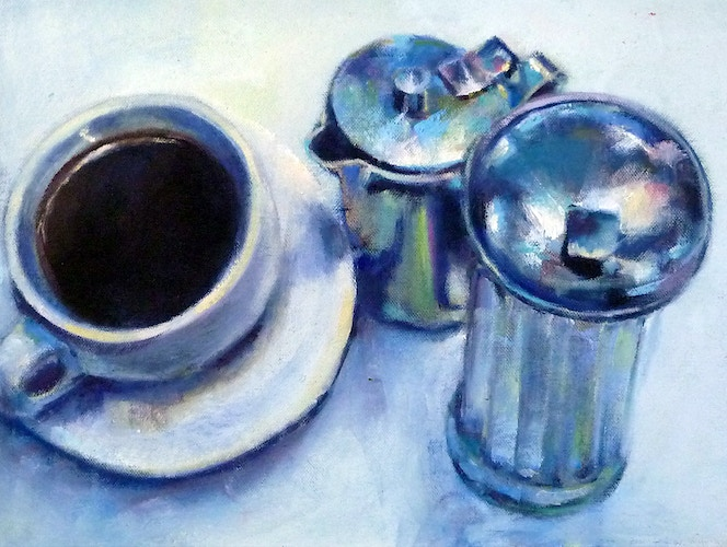 Coffee, Cream & Sugar - Meghan Taylor Art