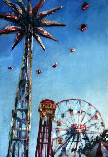 Spinning in the Sky - Meghan Taylor Art