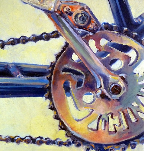 Bicycle Crank - Meghan Taylor Art