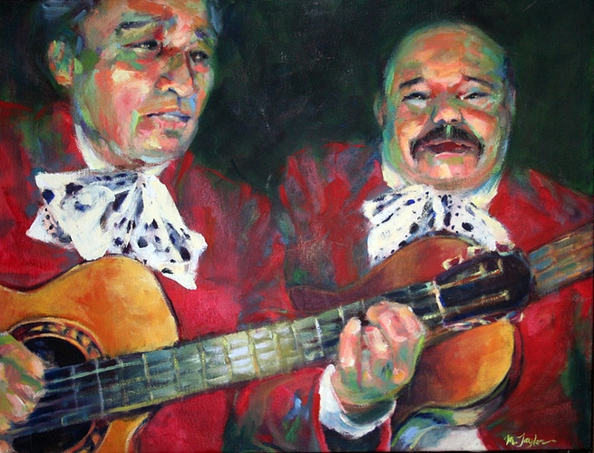 Two Mariachis - Meghan Taylor Art