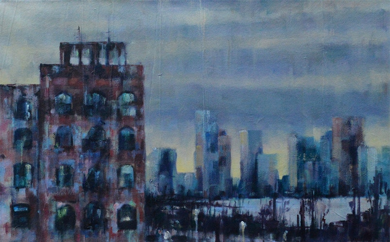 View from the Highline - Meghan Taylor Art