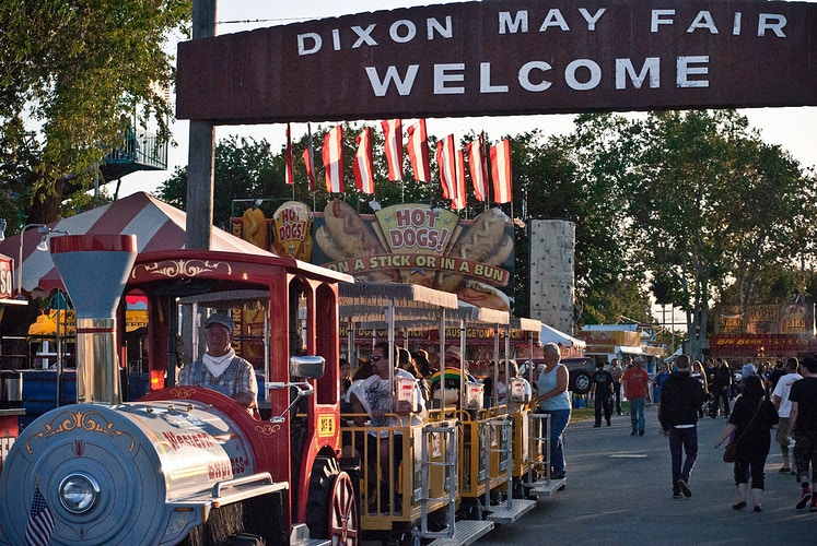 Dixon May Fair. - Melissa Uroff