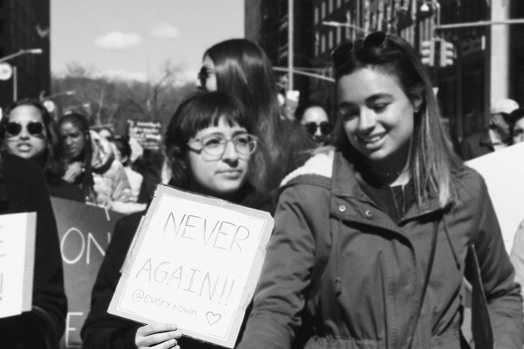 March For Our Lives - Micaela Rebelo