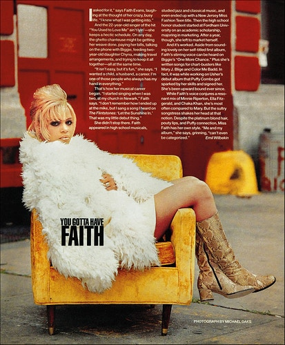 Faith Evans - Michael Daks