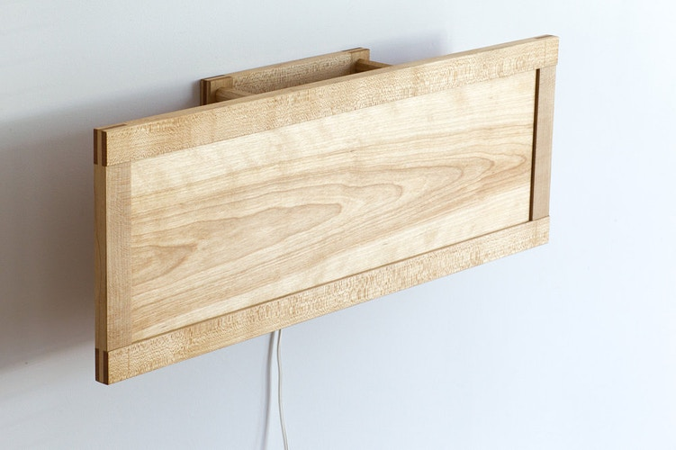 Bonsai Wall Sconce - Michael Royce Waldeck Woodworker