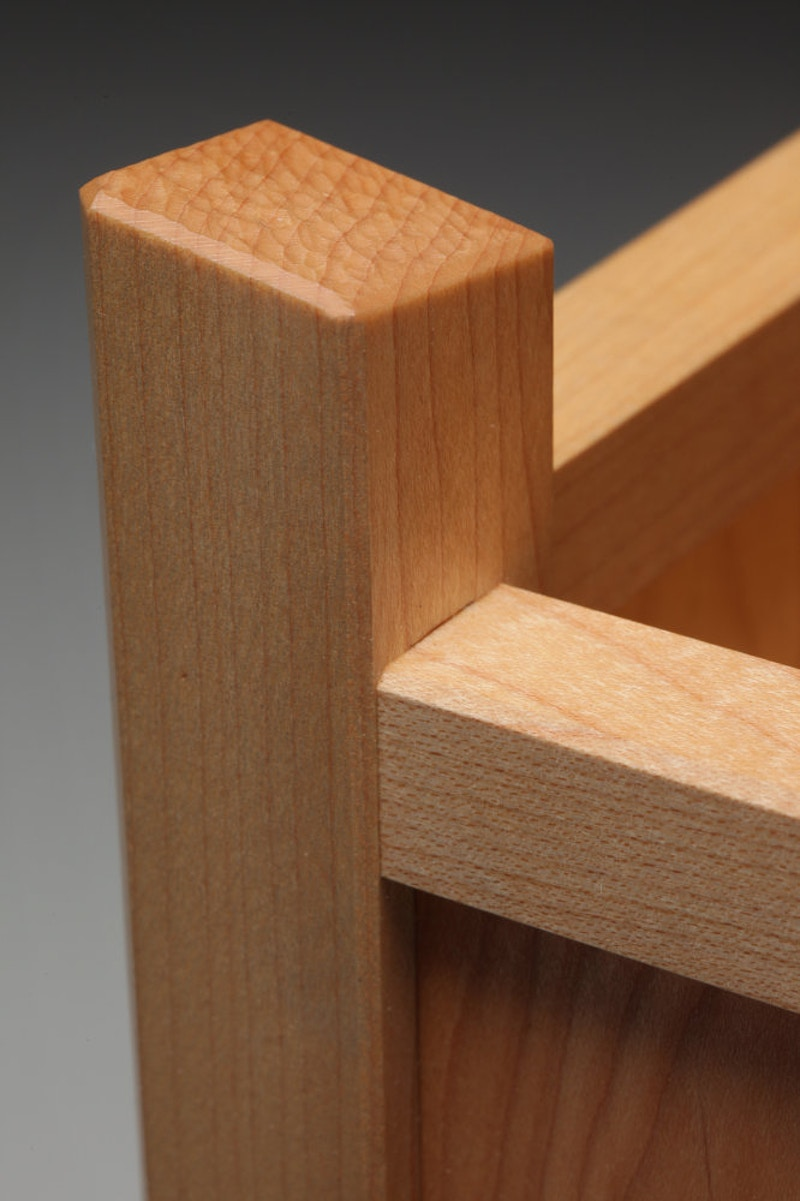 Confluence Table Lamp - Michael Royce Waldeck Woodworker