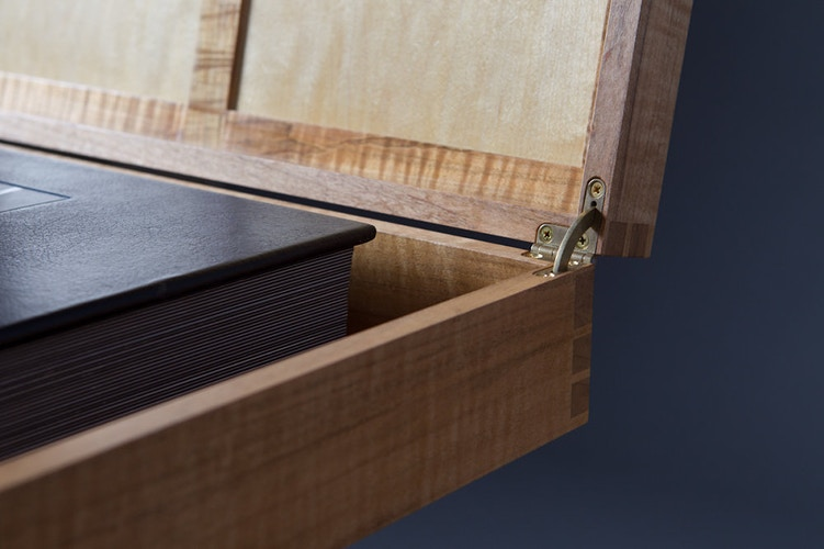 Wedding Album Box, The Deuce - Michael Royce Waldeck Woodworker