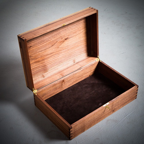 Large Wedding Box - Michael Royce Waldeck Woodworker