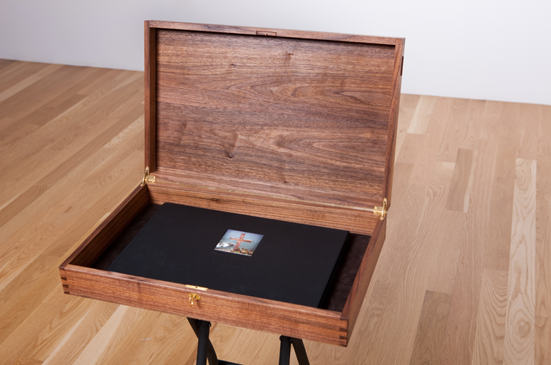 Wedding Album Box - Michael Royce Waldeck Woodworker