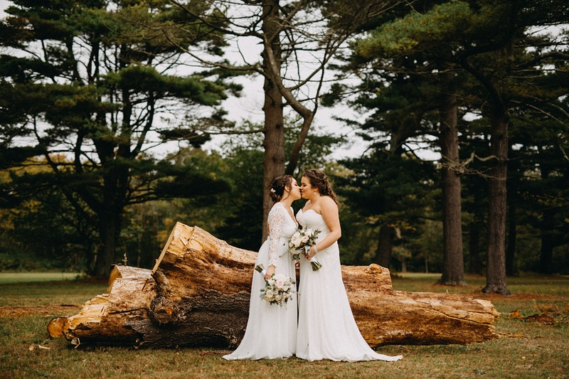 Katie And Lindsey Hecksher State Park East Islip Ny - Michael Cassara | Photography - Long Island Wedding Photographer