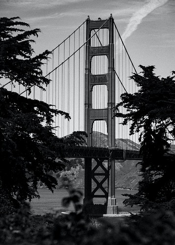 Golden Gate View - Mike Monaghan Photographer