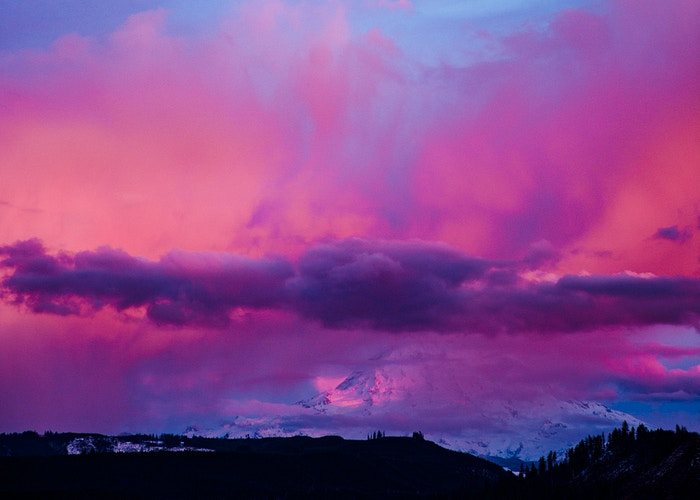Cotton Candy Mountain - Mike Monaghan Photographer