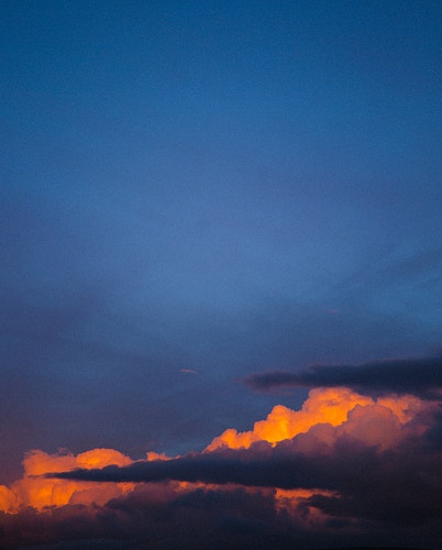 Sunset Clouds II - Mike Monaghan Photographer