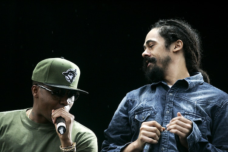 Nas and Damian Marley - Mike Wilson Photography