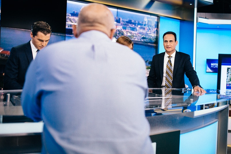 One Day With A News Anchor - MIKE WINDLE